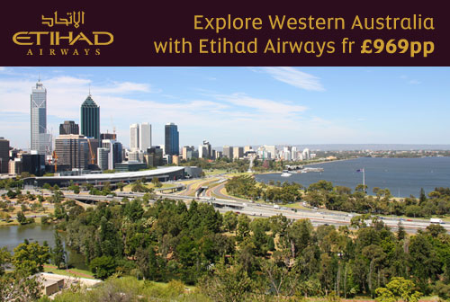 Explore Western Australia with Etihad Airways