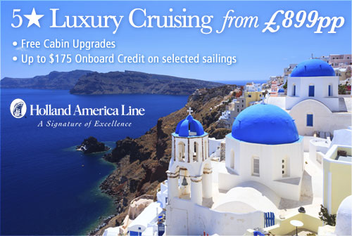 Holland America Line Special offers