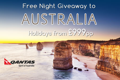 Free Night Giveaway to Australia or Dubai