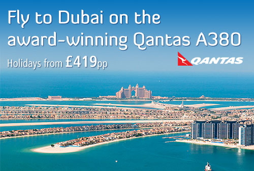 Dubai with Qantas