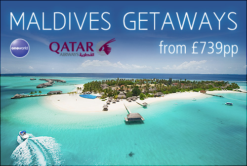 Maldives Getaways with Qatar Airways