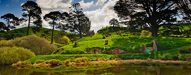 The Ultimate Hobbit Map of New Zealand