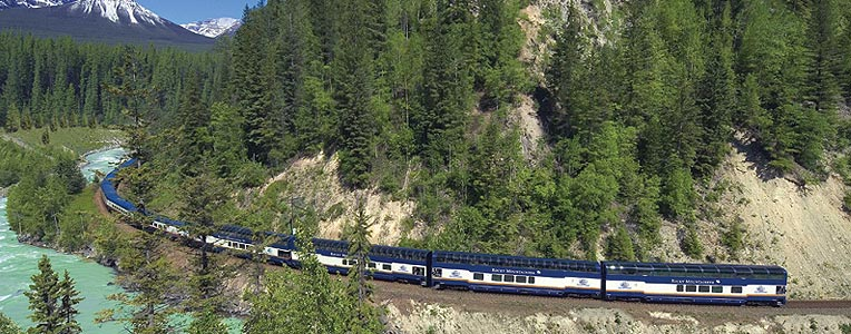 Iconic rail travel in Canada