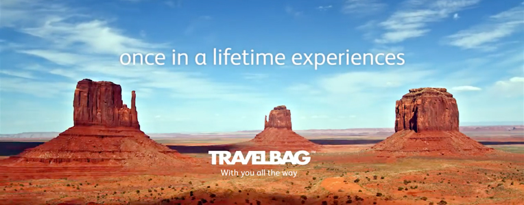Get inspired by the new Travelbag TV advert