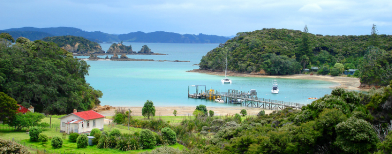 Great walks of New Zealand: North Island