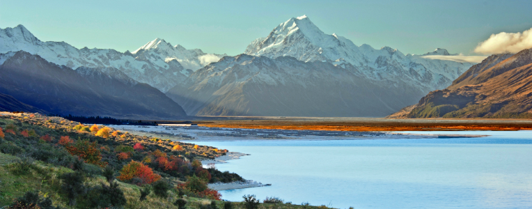 Great walks of New Zealand: South Island