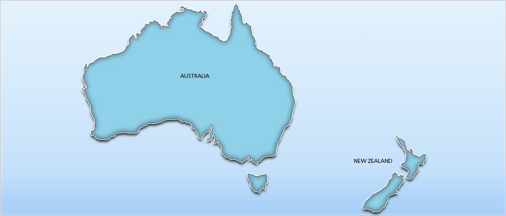 Australia Holidays Map