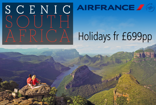 Scenic South Africa with AirFrance