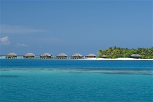 View of the Water Bungalows