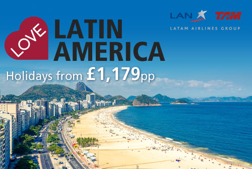 Love Latin America with TAM Airlines