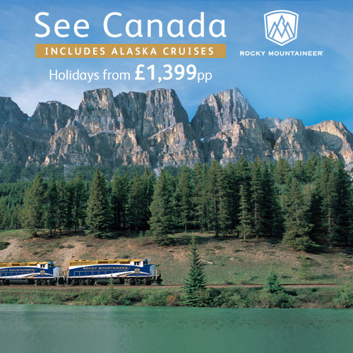 See Canada with Rocky Mountaineer