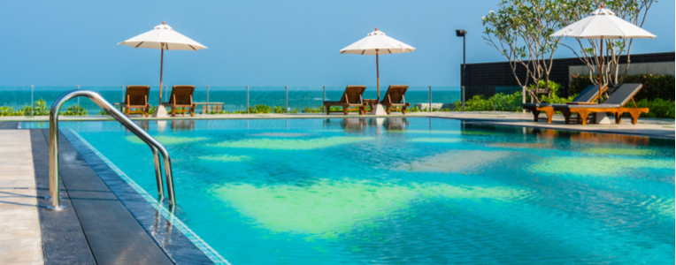 luxury resort indian ocean