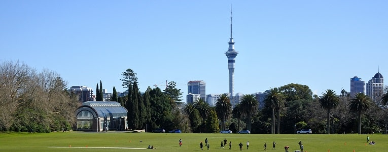 Albert Park and Sky Tower