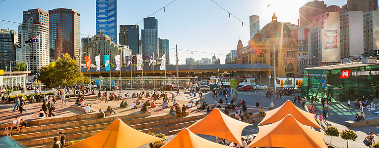 Visit an award-winning city - Melbourne