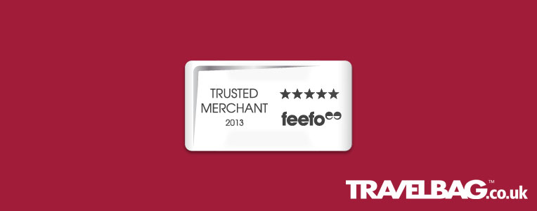 Feefo awards Travelbag trusted merchant status