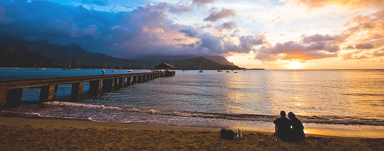 Eat like a local in  Hawai'i
