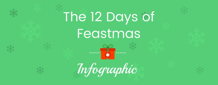 The 12 Days of Feastmas - Infographic