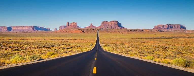 Forrest Gump - Monument Valley