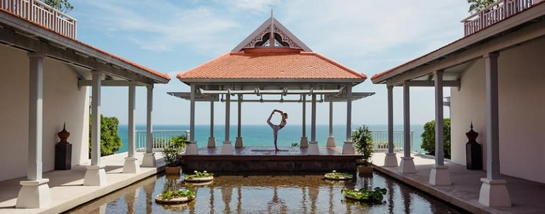 Yoga at Amatara Wellness Resort