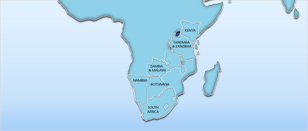 Africa Holidays, Flights, Hotels & Tours – Travelbag Map