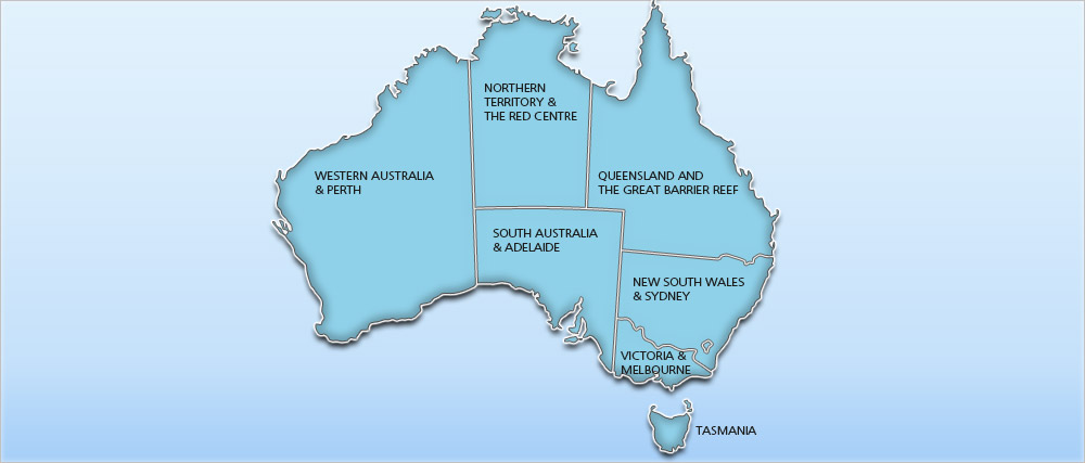 Australia Holidays 2018/2019 | Cheap Australia Holiday Deals Map