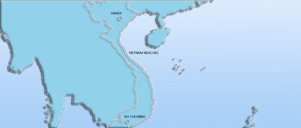 Vietnam Holidays 2016/2017. Holidays to Vietnam with Travelbag Map
