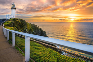 3nts Sydney, 1nt Blue Mountains, 1nt Hunter Valley & 2nts Byron Bay