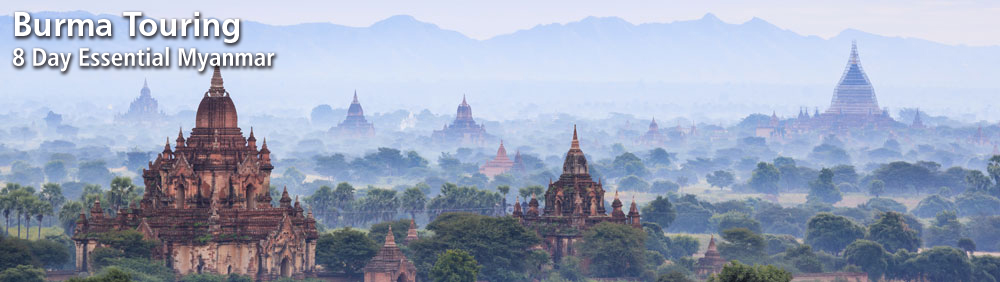 Burma Touring Holidays with Travelbag