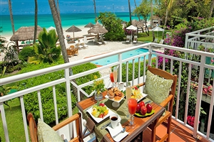 Caribbean Honeymoon Beachfront Grande Luxe Club Level