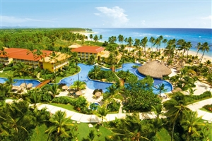 View of the Dreams Punta Cana