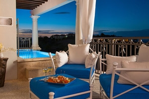 Italian Oceanview Penthouse One Bedroom Skypool Butler Suite With Veranda Tranquility Soaking Tub