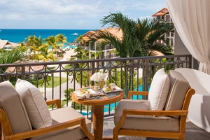 Italian Oceanview Bi-Level One Bedroom Butler Suite With Balcony Tranquility Soaking Tub