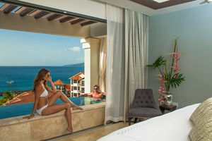 Italian Oceanview Penthouse One Bedroom Skypool Butler Suite With Balcony Tranquility Soaking Tub
