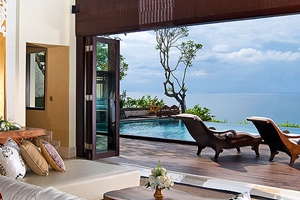 One Bedroom Ocean Front Villa