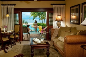 Swim-Up Crystal Lagoon Beachfront One Bedroom Butler Suite