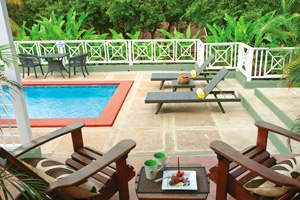 Butler Village One Bedroom Poolside Villa Estate Suite