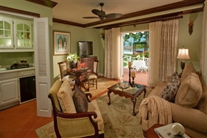 Bay Roc Beachfront Presidential One Bedroom Butler Village Suite