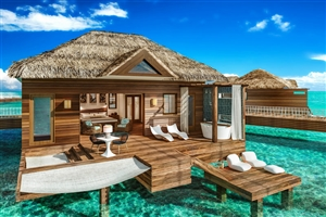 Over-The-Water Private Island Butler Villa With Honeymoon Bungalow