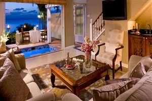 Sunset Bluff Oceanfront Two Storey One Bedroom Butler Villa Suite With Private Pool