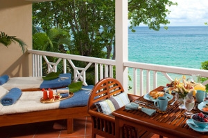 Piton Water Edge 2 Story 1 Br Butler Suite With Balcony Tranquility Soaking Tub