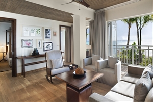 Beachfront St Regis Suite