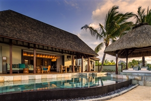 Book your stay at four seasons resort mauritius at anahita for Garden pool villa four seasons mauritius
