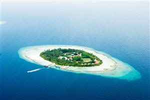 Aerial View of Chaaya Reef Ellaidhoo