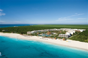 Aerial view of the Secrets Maroma Cancun