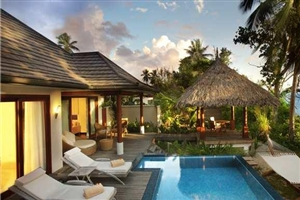 Deluxe Beachfront Pool Villa