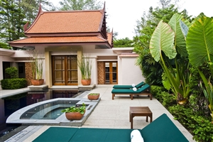 One Bedroom Double Pool Villa