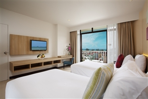 The Terraces Superior Oceanview Room