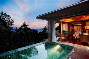 One Bedroom Beachfront Villa With Pool