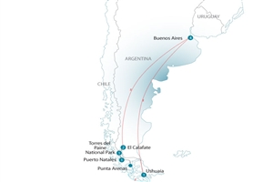 Journey Through Patagonia - click to expand