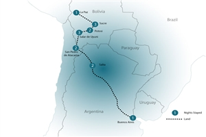 15 Day Buenos Aires to La Paz Adventure - click to expand